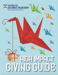 2018 High Impact Giving Guide cover