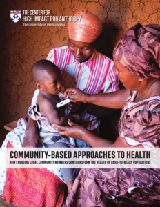 Community Based Approaches to Health