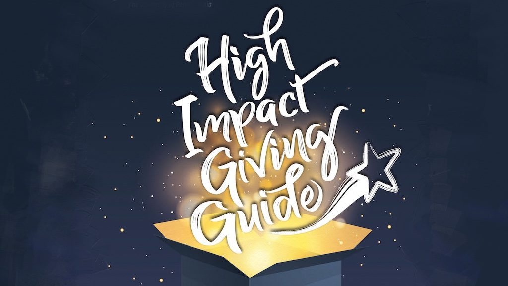 HIgh Impact Giving Guide