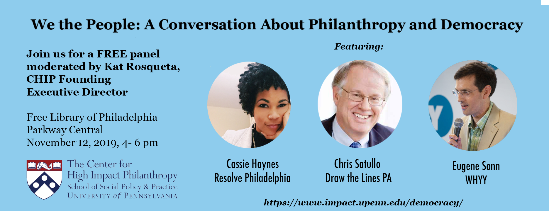 We the People: A Conversation about Philanthropy and Democracy