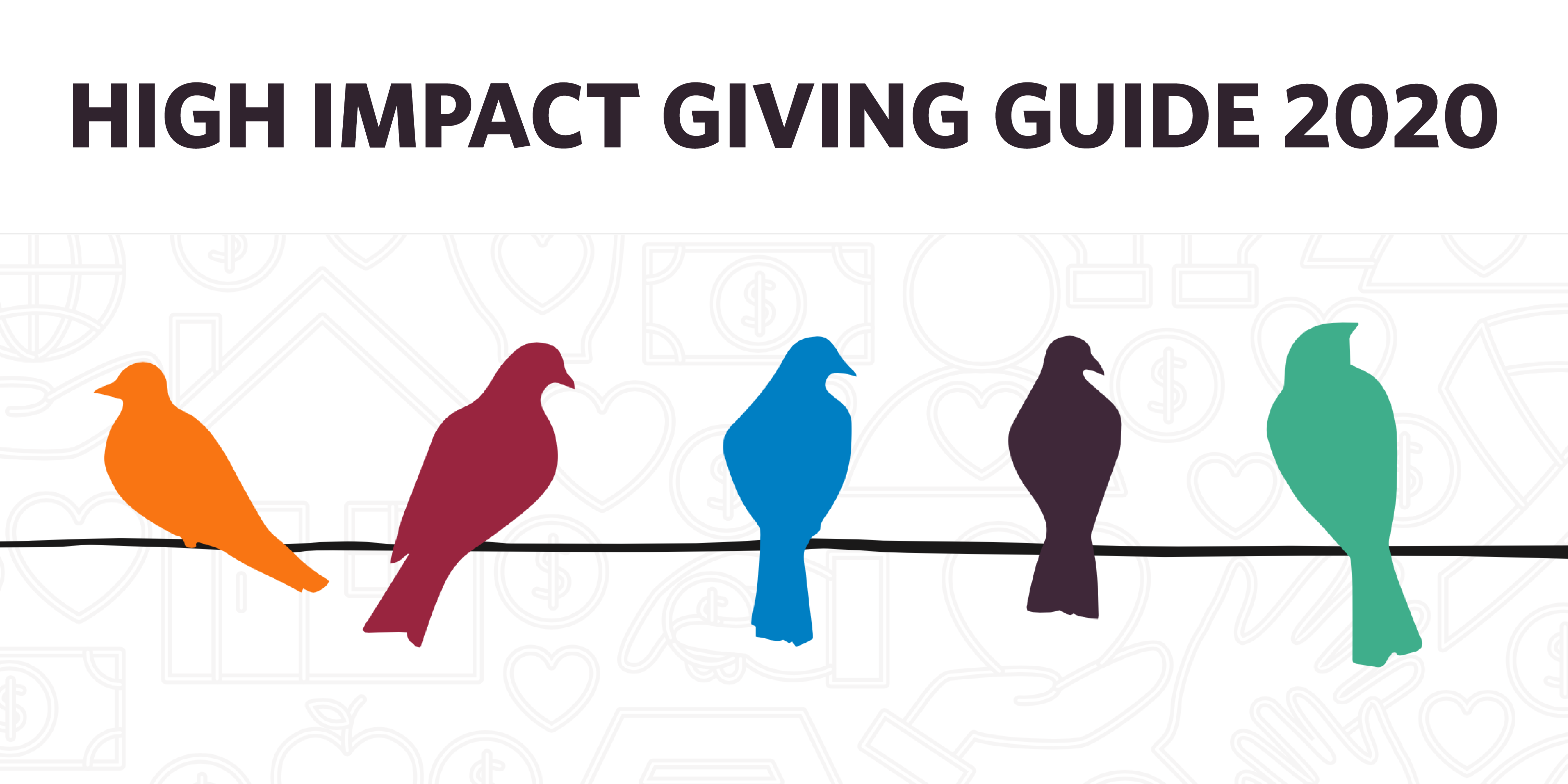 2020 High Impact Giving Guide