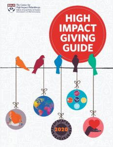 High Impact Giving Guide 2020