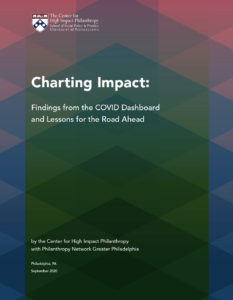 Charting Impact Findings from the COVID Dashboard and Lessons for the Road Ahead