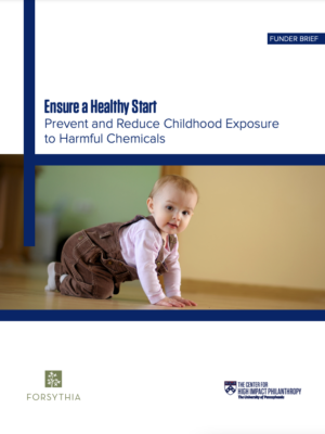 Ensure a Healthy Start Cover